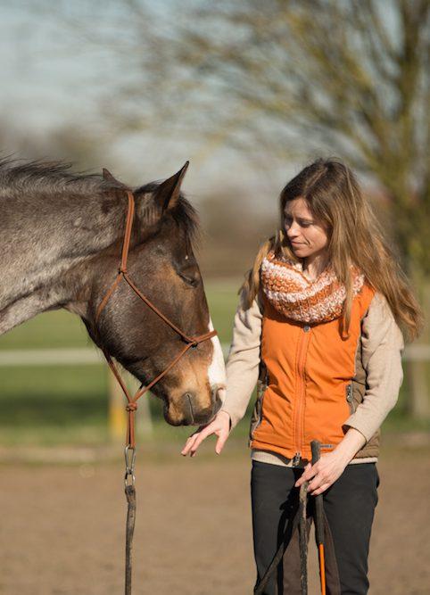 Super wichtige Ausrüstung fürs Pferd: das Knotenhalfter
